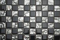 Black and white mosaic. Stock Image