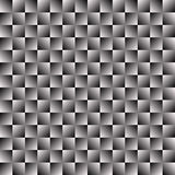 Black and white mosaic texture, mosaic pattern. Seamlessly repea. Table.  - Royalty free vector illustration Stock Images