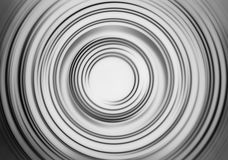 Black and white motion blur teleport swirl background Royalty Free Stock Images