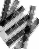 Black and white negative film Stock Photography