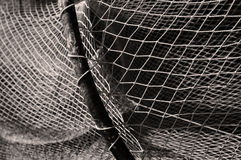 Black and white net Stock Photos