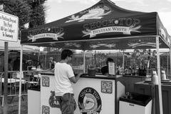 Black and White 626 Night Market, Arcadia, California Royalty Free Stock Image