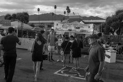 Black and White 626 Night Market, Arcadia, California Royalty Free Stock Photography