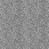 Black and white noise pattern Royalty Free Stock Photos