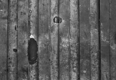 Black and white old grungy metal surface Stock Image