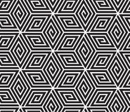 Black and White Op Art Design Royalty Free Stock Photos