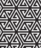 Black and White Op Art Design Royalty Free Stock Image