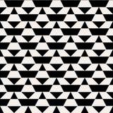 Black and white op art pattern Stock Photo