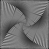 Black and White Opt Art Background Royalty Free Stock Photos