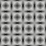 Black and White Opt Art Seamless Royalty Free Stock Photos