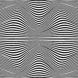 A black and white optical illusion Stock Photo