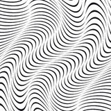 A black and white optical illusion Royalty Free Stock Photos