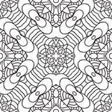 Black and white oriental pattern Royalty Free Stock Image