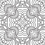 Black and white oriental pattern Royalty Free Stock Photo