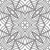 Black and white oriental pattern Royalty Free Stock Photos