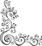 Black and white ornament Royalty Free Stock Photo