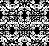 Black and white ornament Royalty Free Stock Photos