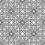 Black and white ornament Stock Images
