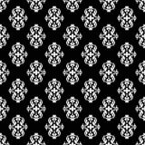 Ornamental seamless pattern. Black and white Stock Photos