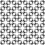 Ornamental seamless pattern. Black and white Royalty Free Stock Images
