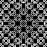 Ornamental seamless pattern. Black and white Stock Image