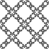 Ornamental seamless pattern. Black and white Stock Photo