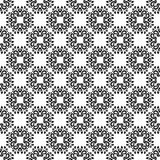 Ornamental seamless pattern. Black and white Stock Photography