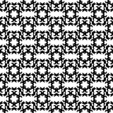 Ornamental seamless pattern. Black and white Royalty Free Stock Photos