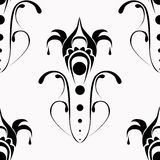 Black-and-white ornate Royalty Free Stock Photos
