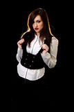 Black and white outfit Royalty Free Stock Photography