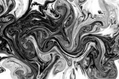 Black and White Paint Texture vector illustration