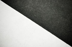 Black and white paper Stock Photos