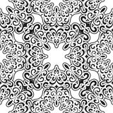 Black and white pattern Stock Images