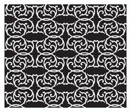 Black and White Pattern Royalty Free Stock Images