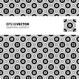 Black-white pattern_7. Vector seamless black-white pattern. This is file of EPS10 format Stock Photo