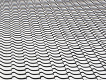 Black and white pattern background Stock Images
