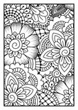 Black and white pattern. Royalty Free Stock Photography