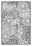 Black and white pattern. Stock Photography