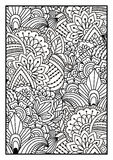 Black and white pattern. Stock Photo