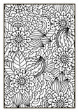 Black and white pattern. Stock Image