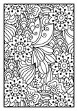 Black and white pattern. Royalty Free Stock Photos
