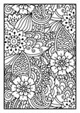 Black and white pattern. Royalty Free Stock Photo