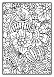 Black and white pattern. Stock Images