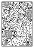 Black and white pattern. Royalty Free Stock Images