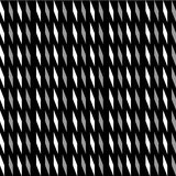 Black and white pattern illustration Stock Image