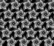 Black and white pattern with line set 1. Stock Photo