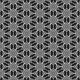Black and white pattern seamless Stock Photography