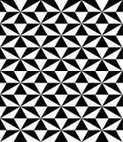 black and white pattern seamless Stock Image