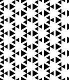 Black and white pattern seamless Stock Images