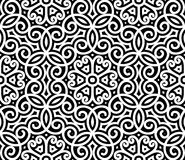 Black and white pattern Stock Photography